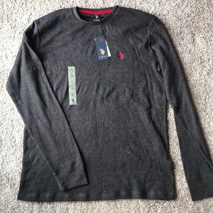 NWT US Polo Assn long sleeve. Large